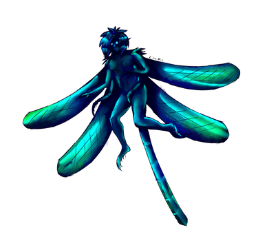 Monster boy challenge day 13: Insect boy by McEdgelord