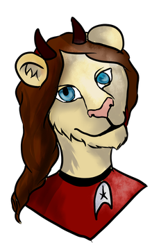 BADGE - Lioness by Nymerie