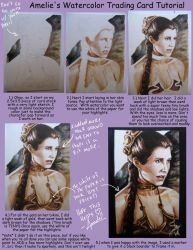 trading card tutorial by Amelie-ami-chan