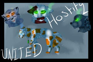 United hostility cover art by Uki-U