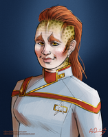Admiral Kaxaia by SpacelingArt