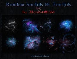 Random fractals 65 PNG by starscoldnight by StarsColdNight