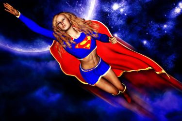 Super...Girl by lowriderchick