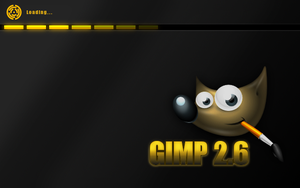 Gimp 2.6 Splash by uberdiablo-pixels