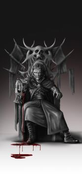 Dracula Grayscale by franeres