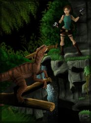 Tomb Raider the lost valley co by ClaireLyxa