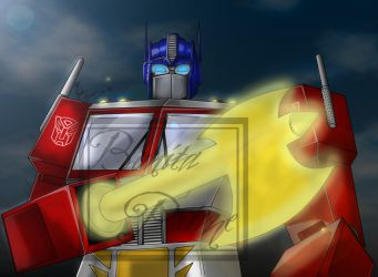G1 Optimus Prime with Energon Axe -COMPLETE- by ElitaOneArts