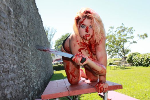 Glamour Gore I by SarahTriceratops