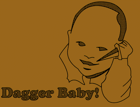Dagger Baby by ChaosBurnFlame