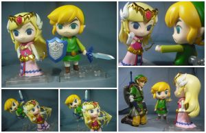 Link and Zelda (Wind Waker) by KrisAnderson97