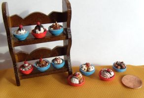 Mini Bowls of Ice Cream by Kyle-Lefort
