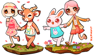ACNL: Villagers and Mayors 3 by L1SKA