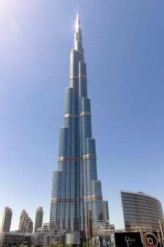 Burj Khalifa by ChristophMaier