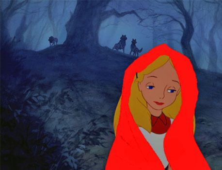 Alice as Red Riding Hood by Jessegodowin