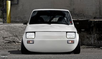 Superb Fiat 126 by Slbamm by Slbamm