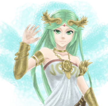 Lady Palutena by Kylle-1007