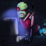 INFERIOR EARTH MACHINE by bluescreen-of-death