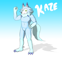 Kaze the Lycanroc By JeiArrShi by QuestionUnicorn