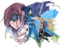 Code Geass: Akito The Exiled by Nick-Ian