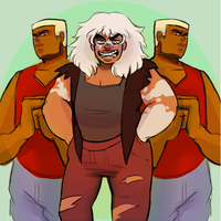 Jasper And The Topazes by fumidraws