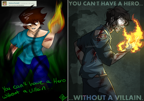 You Can't Have A Hero [REDRAW] by BaserBeanz
