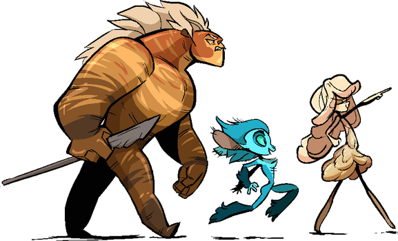 Mune trio by FablePaint
