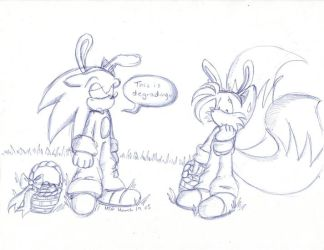 Sonic the Easterbunny by MilesTailsPrower-007