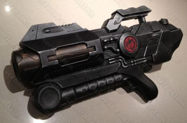 Gears of War Blaster cannon nerf type mod by GirlyGamerAU