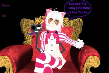You Are The Only One Who is Fun Today by foxtrot-the-mangle