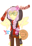 Fluttersniper Red Ver by HiddenTabby