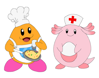 Egg-cellent Chef and Healer by Rotommowtom