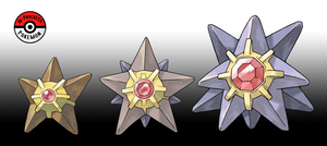 120 - 121 Staryu All by InProgressPokemon