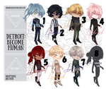 [Adopt Auction] Children of the Detroit! (OPEN) by AriaRozen