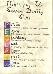 Seven Deadly Sins by CelestialPremonition