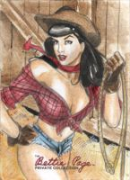 Bettie Page 933 by Csyeung