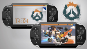 Overwatch [PS Vita Custom Theme] by TrNxSLAYER
