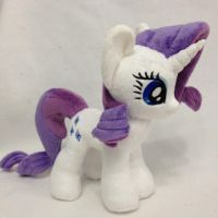 Plushie Marshmallow Rarity by Burgunzik