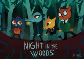 Night In The Woods by IanPinkis