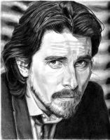 Christian Bale from GQ by khinson
