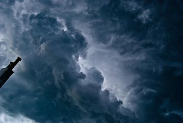 cloud stormy stock by amka-stock