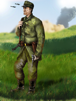 German soldier by Volcol