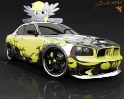 Derpy Charger Coupe :D by sylwek1191
