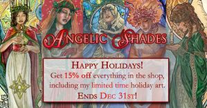 Angelic Shades Holiday Sale! by AngelaSasser