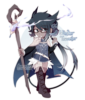 [CLOSED] Thaumachina Auction 02: Winter Traveler by dracooties