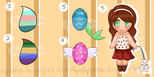 Mixed Sale Adopts 50-100 points/$.50-$1.00 OPEN by Aquadoptables