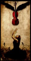 The Runaway Violin by alienor