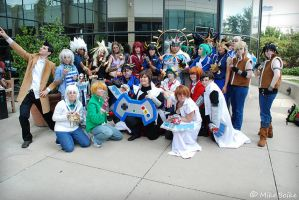 AnimeFest 2011 Yu-Gi-Oh Group by Inufan078