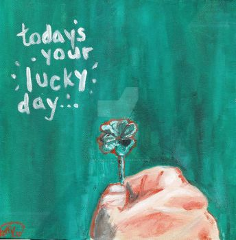 today's your lucky day... by CrazyIdea-Inc