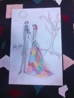 NightMare Before Christmas Prom by Winged-blackshell