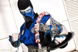 Mortal Freeze by Leon Chiro as Sub-Zero Cosplay by LeonChiroCosplayArt